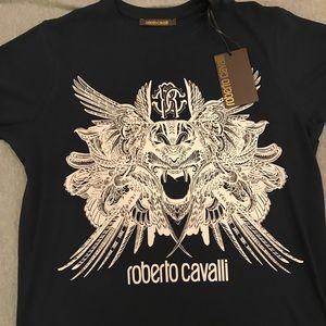Roberto Cavalli T-shirt (Dark blue)
